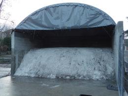 sel, couverture de cale à sel, hiver, salage, protection du sel, sel pour salage de route